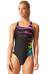 adidas Infinitex Streamline Graphic Suit Women black/shock purple f16